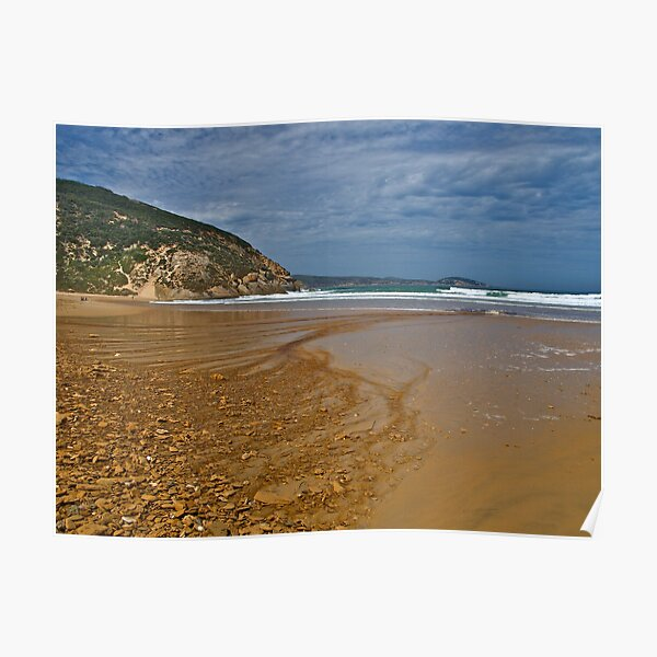 Approaching storm, Wilsons Promontory, Victoria Poster