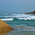 Waves at Wilsons Promontory, Victoria by johnrf