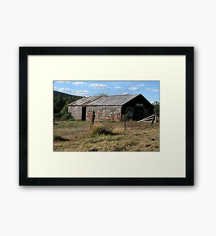 Exhibition - So they say Framed Print