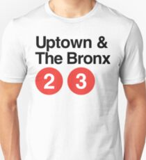 Uptown & The Bronx Unisex T-Shirt