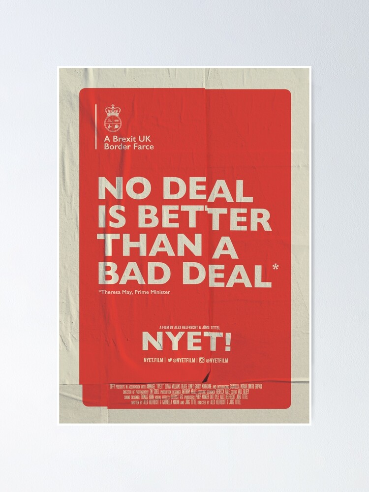 Alternate view of No Deal Poster Poster