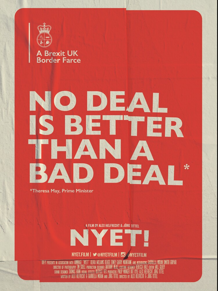 No Deal T-Shirt by nyetfilm