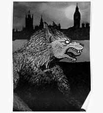 Werewolf in London Poster
