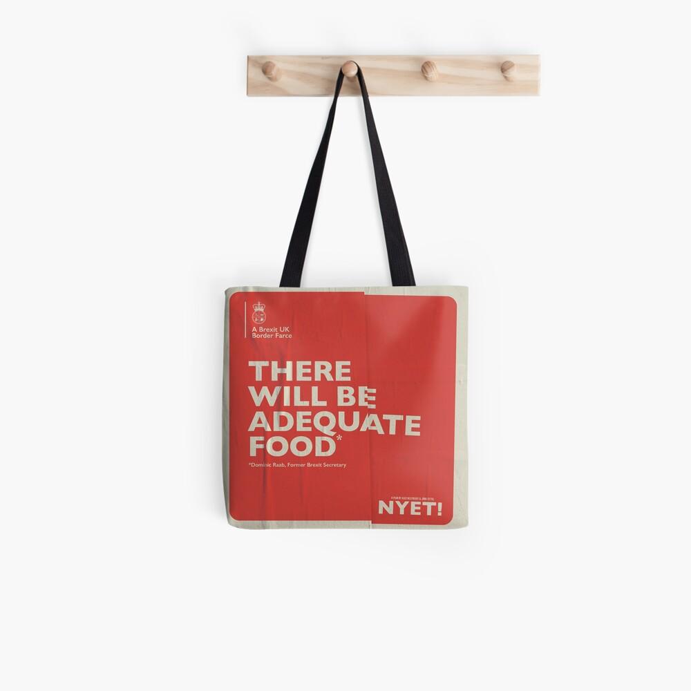 Adequate Food Tote Tote Bag