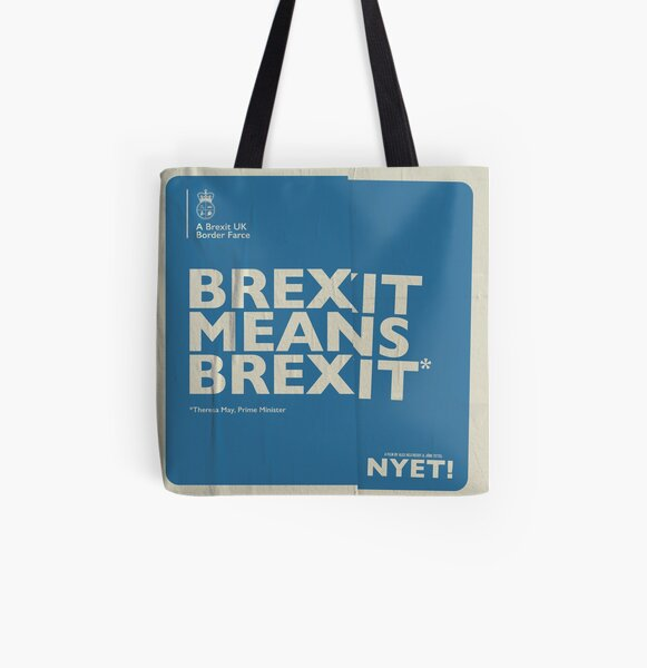 Brexit Tote All Over Print Tote Bag