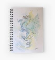 Paul's dragon Spiral Notebook