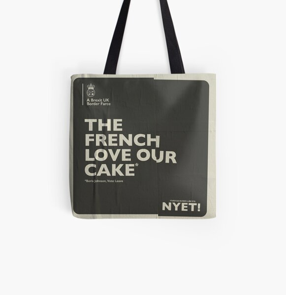 The French Tote  All Over Print Tote Bag