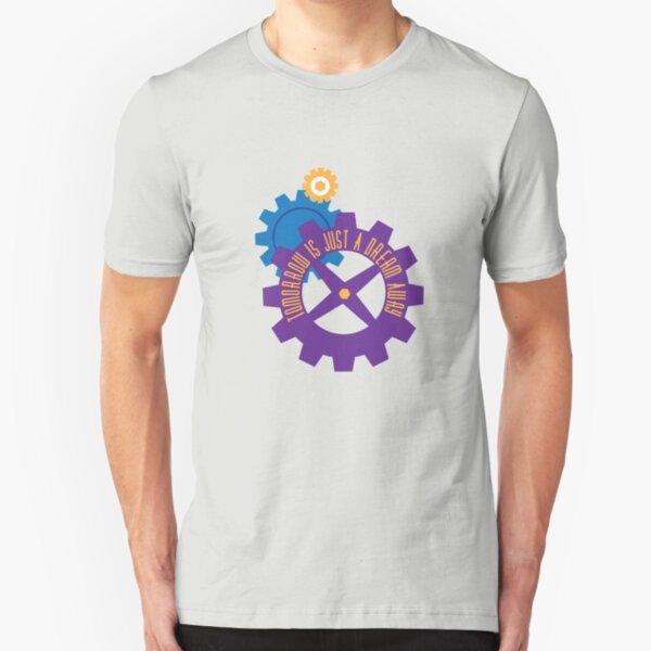Tomorrow Is Just A Dream Away Slim Fit T-Shirt