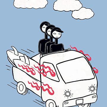 Let's go surfing by RYURAKUDO