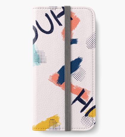 DUH Pattern #redbubble #pattern iPhone Wallet