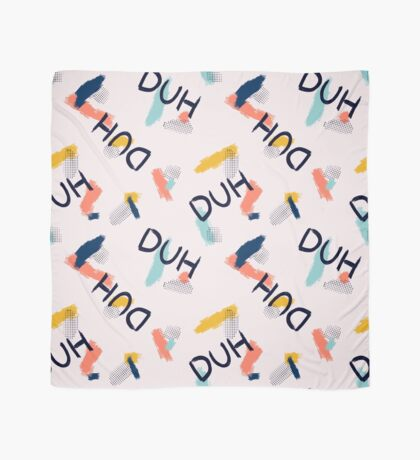 DUH Pattern #redbubble #pattern Scarf