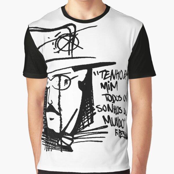 """""""Tenho em mim todo os sonhos do mundo"""" Graphic T-Shirt"""
