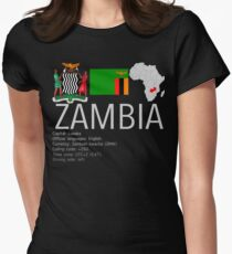 Sambia Tailliertes T-Shirt