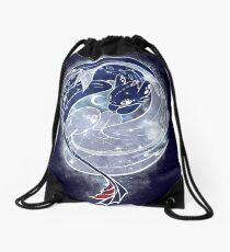 The Last Starry Dragons Drawstring Bag