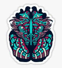 Victorian Lion Sticker