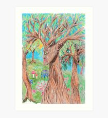 The Thoughts of Trees Art Print