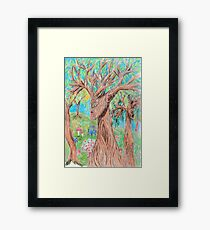 The Thoughts of Trees Framed Print