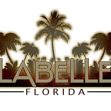 LaBelle Florida palm tree words by artisticattitud