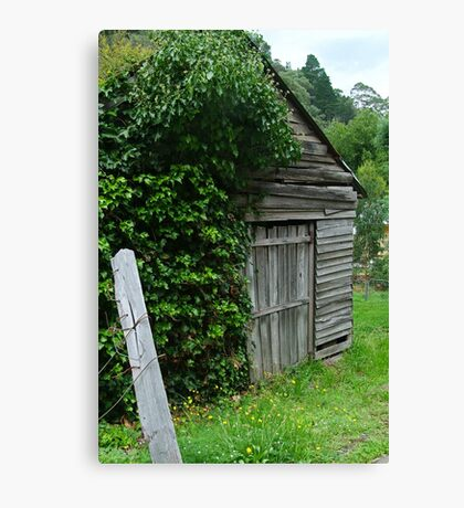 Old Shed,Main Road,Walhalla Canvas Print