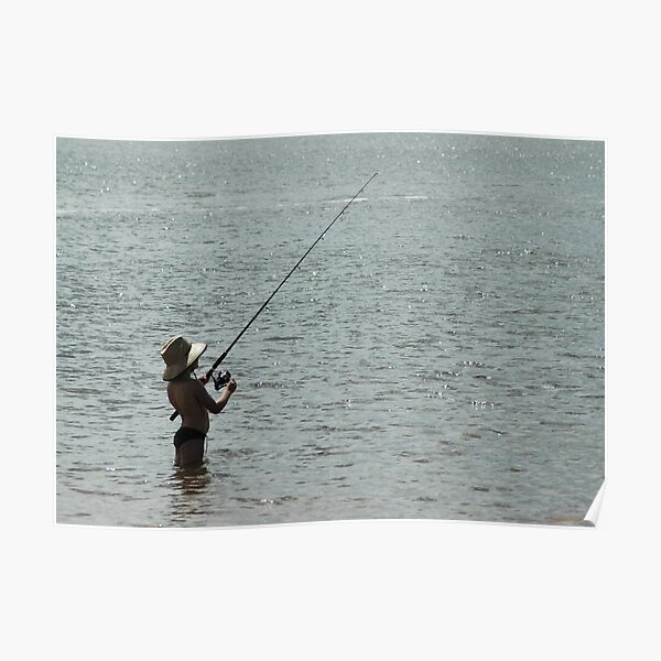 Little Fisher on the Richmond River Poster
