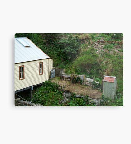 Outhouse,Walhalla Metal Print