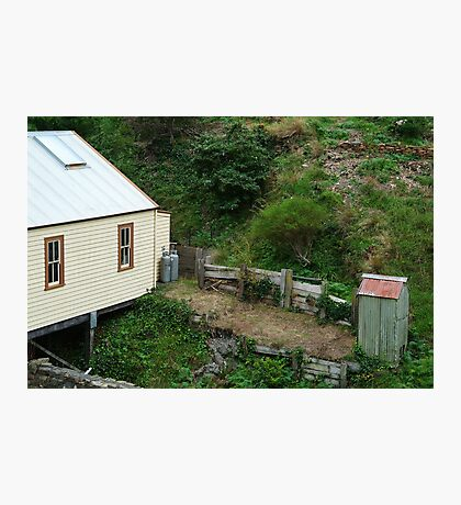 Outhouse,Walhalla Photographic Print