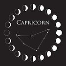 Capricorn Astrology Sign by Ryan McGurl