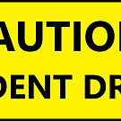 «Precaución estudiante conductor broma» de Statepallets