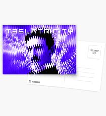 Teslatricity Postcards