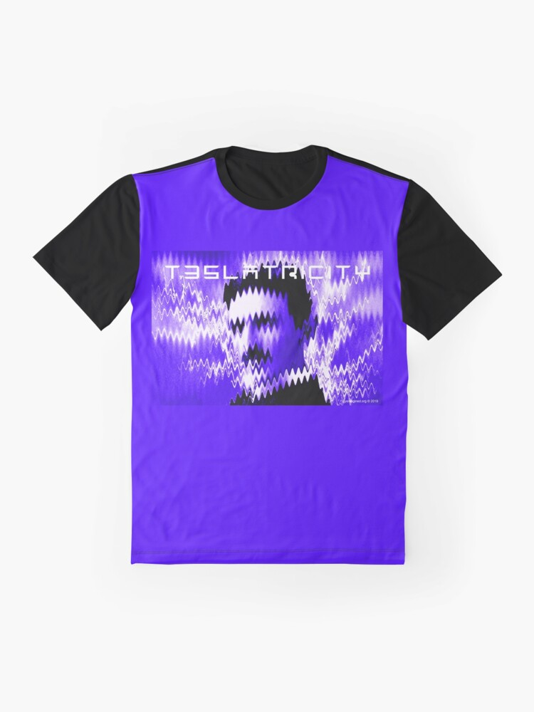 Alternate view of Teslatricity Graphic T-Shirt