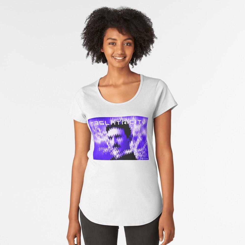 Teslatricity Women's Premium T-Shirt Front