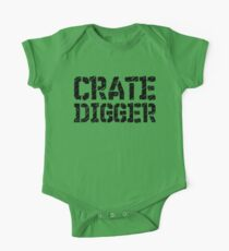 Crate Digger One Piece - Short Sleeve