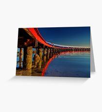 """Boardwalk Reflections"" Greeting Card"