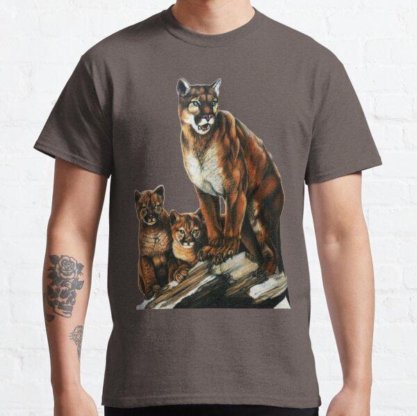 Famille Cougar T-shirt classique