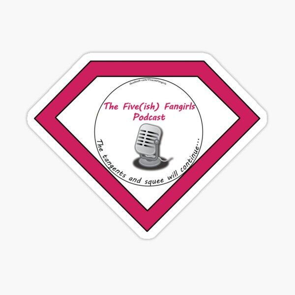 Super Fangirl Sticker