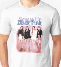 SquareUp BlackPink Slim Fit T-Shirt