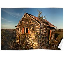 Stone Shack - Geelong Victoria Poster