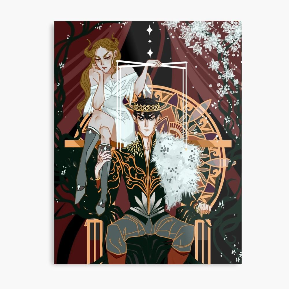 Royal Puppeteer Metal Print