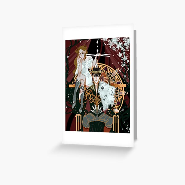 Royal Puppeteer Greeting Card