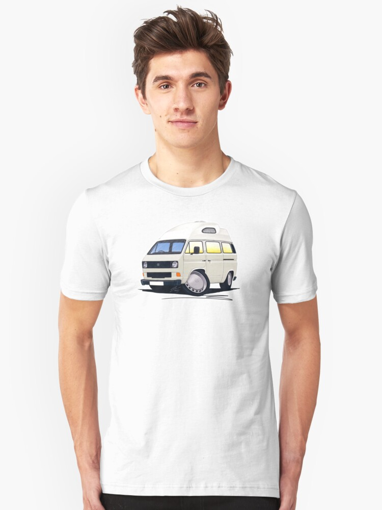 VW T25 / T3 (High Top) White by yeomanscarart