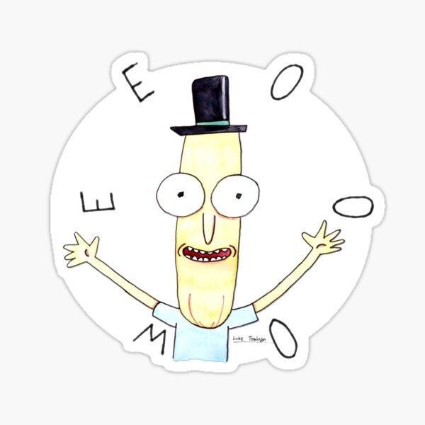 Mr Poopybutthole Sticker