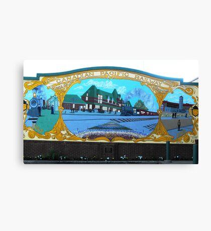 Moosejaw Mural Canvas Print