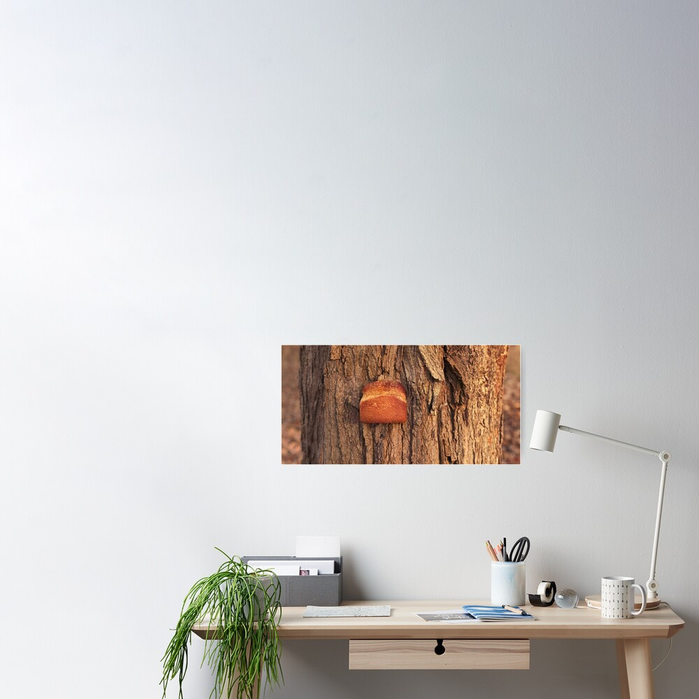 Whole Wheat on White Oak Poster