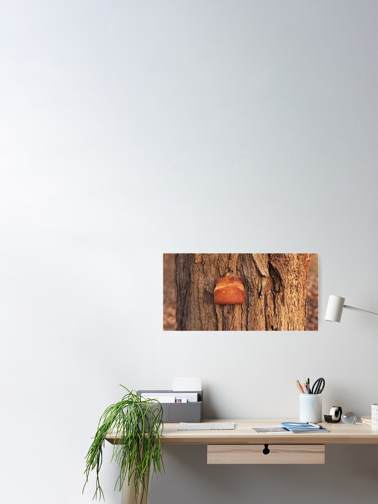 Alternate view of Whole Wheat on White Oak Poster