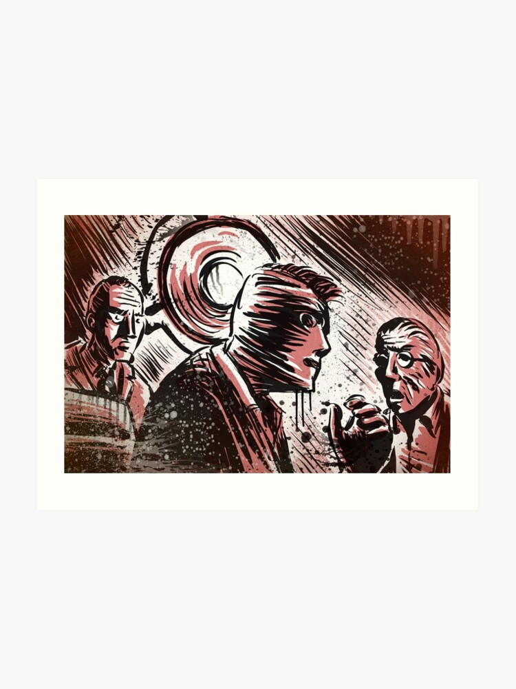 SECONDS, 1966, Art, Rock Hudson, John Frankenheimer, Sci-Fi, Thriller,  Suspense, Mystery, Movie Buff, Father's Day, Birthday Present   Art Print