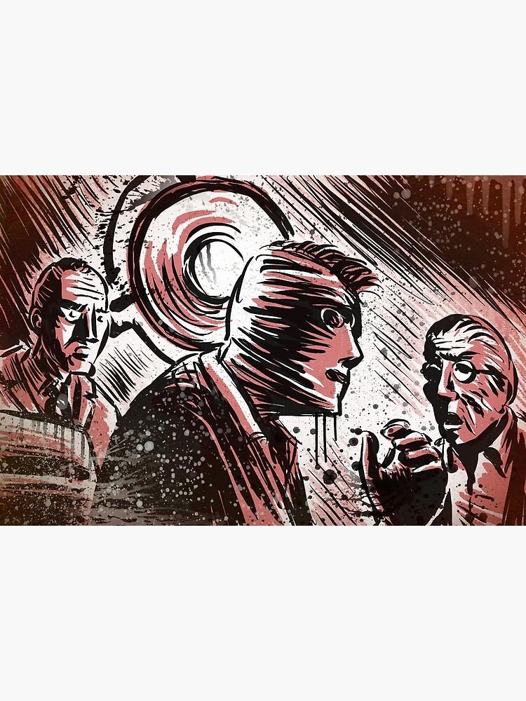 SECONDS, 1966, Art, Rock Hudson, John Frankenheimer, Sci-Fi, Thriller,  Suspense, Mystery, Movie Buff, Father's Day, Birthday Present   Metal Print