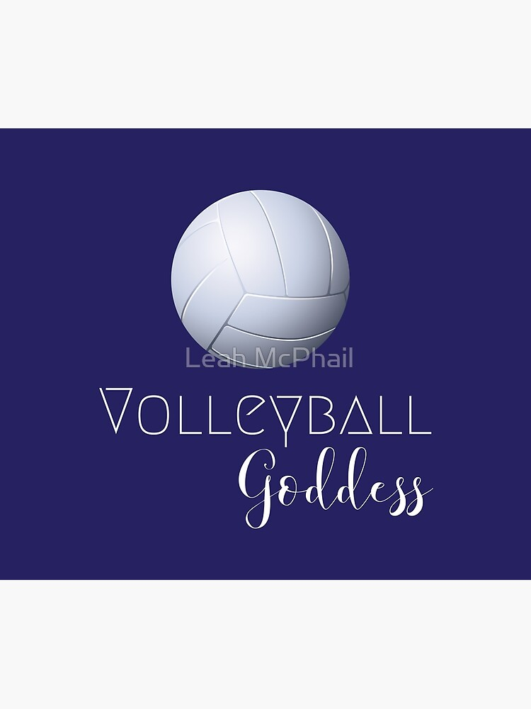 Volleyball Goddess  by LeahMcPhail