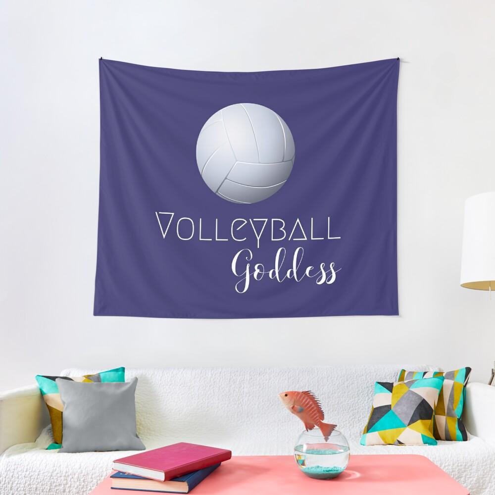 Volleyball Goddess  Tapestry
