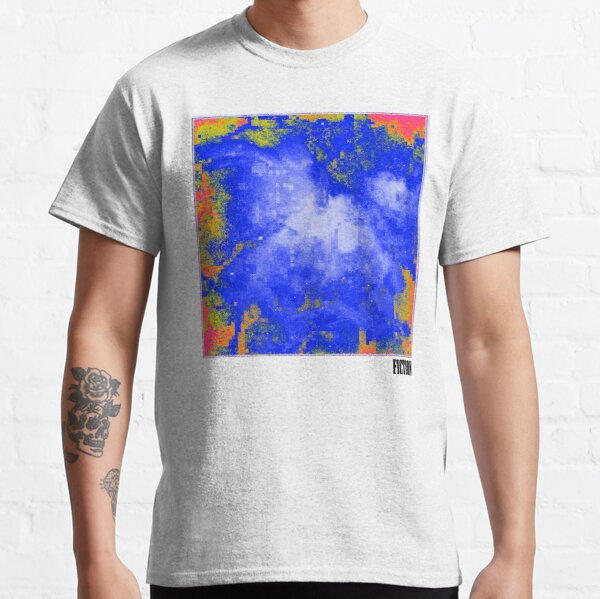 Galaxy Nebula Pixel Print Classic T-Shirt