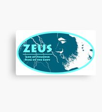 Zeus - God of Thunder Canvas Print